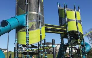 Landsape Structures Upland Design trip - Super Netplex