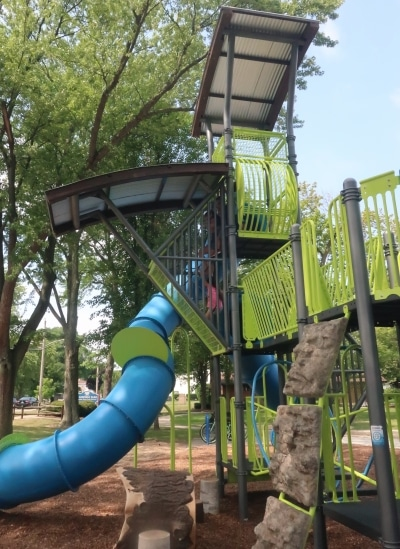 Mansfield Park Playground Tree House Play