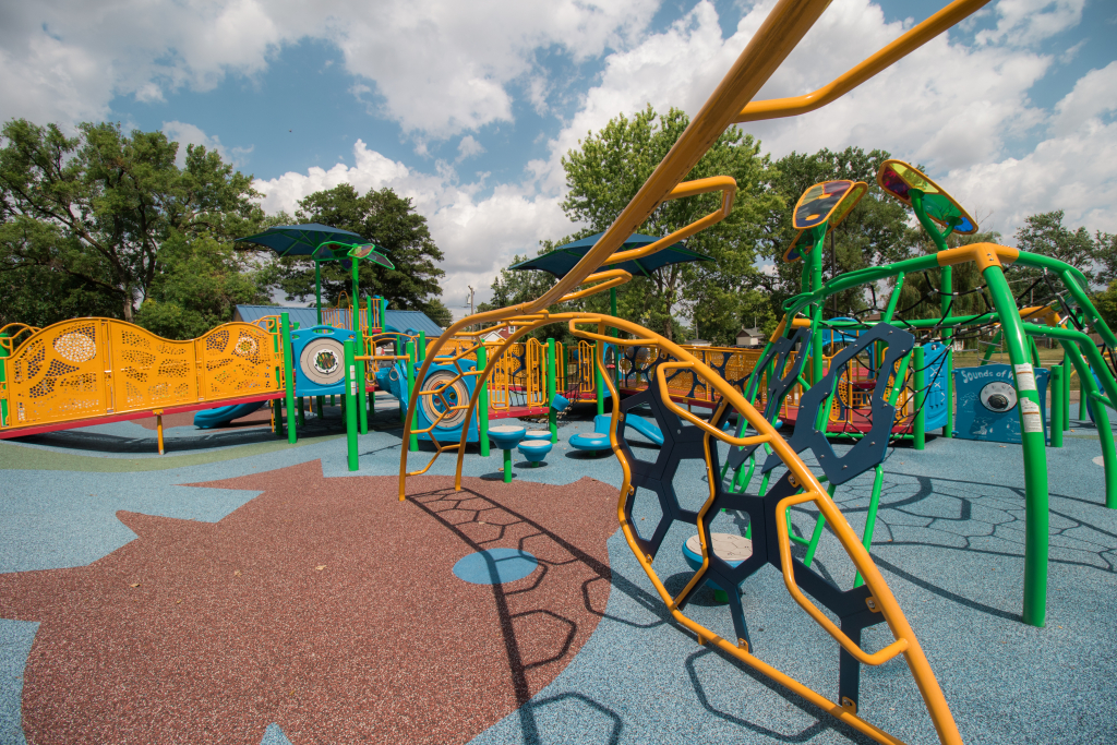 Columbus Manor Park - Playground - Upland Design
