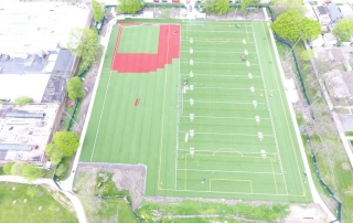West Chatham Park – Turf Field Almost Finished