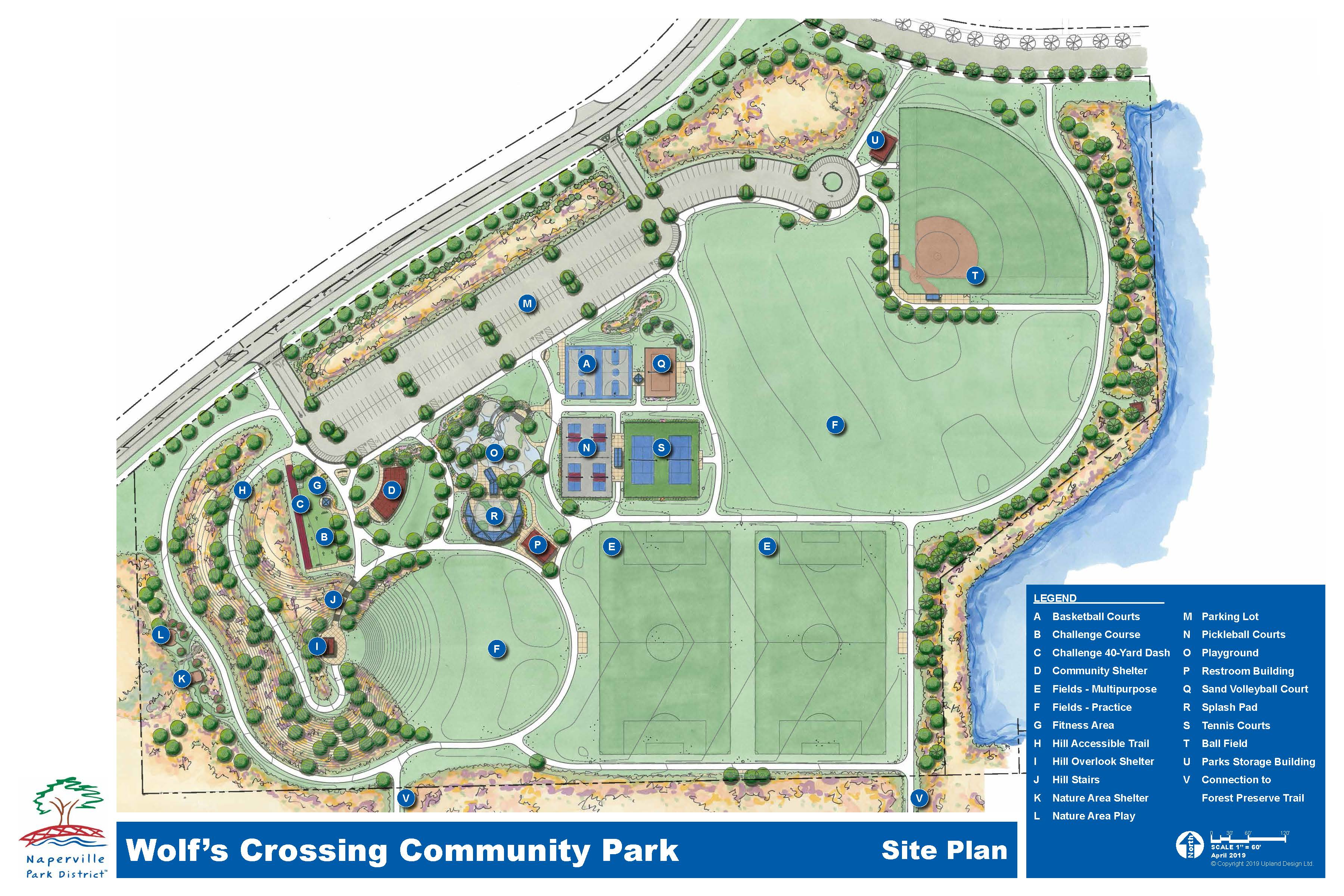 Wolf's Crossing Community Park Map