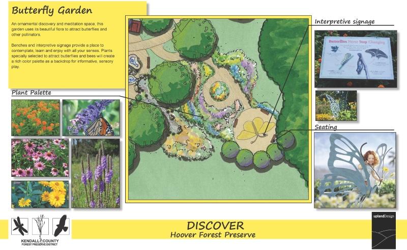 Stephanie's Garden - Butterfly Garden - Upland Design