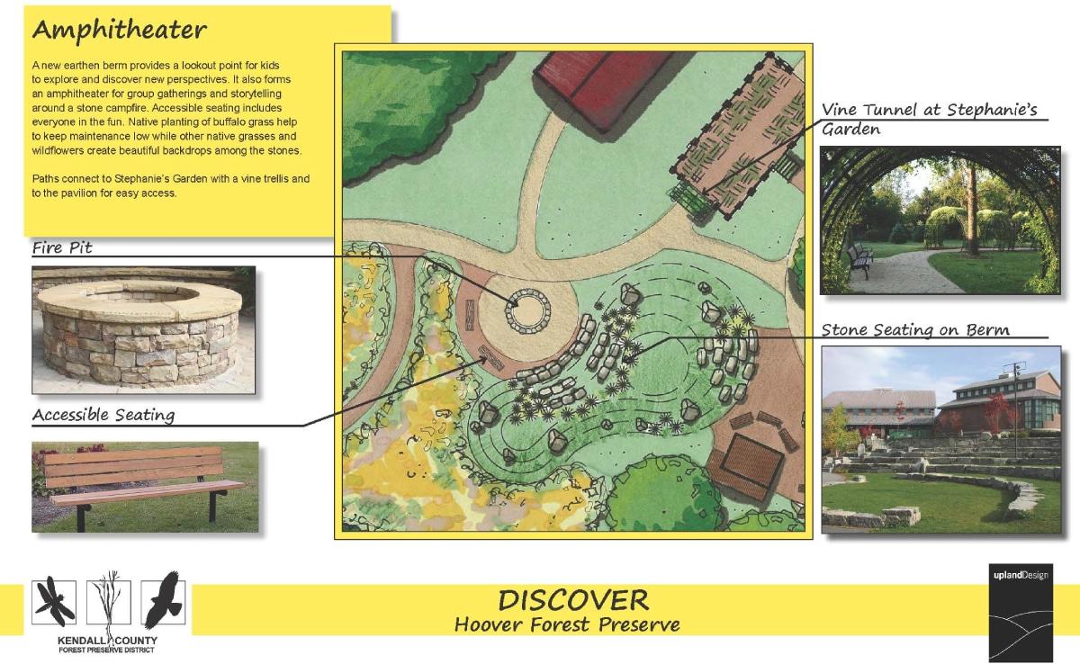 Stephanie's Garden - Amphitheater - Upland Design