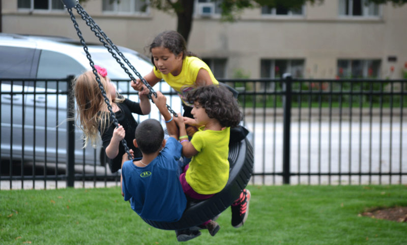 News - Tire Swing at Hiawatha