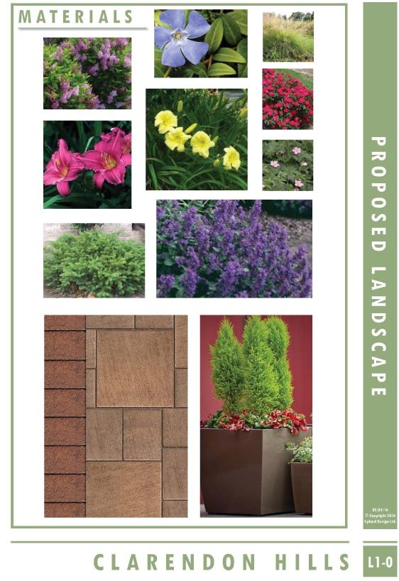 Clarendon Hills - Materials - Upland Design