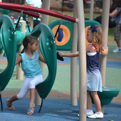 Shabbona Playground - Kids at Shabbona